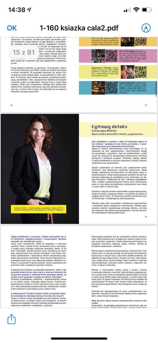 Katarzyna Richter wywiad