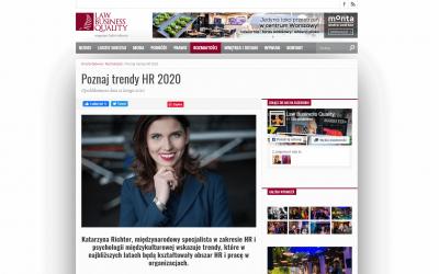 Poznaj trendy HR 2020